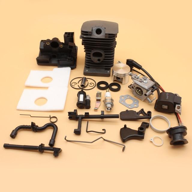 38 MM Cilindro Pistão Carburador Kit de Serviço de Bobina De Ignição Para MOTOSSERRA  STIHL MS180 32c55c962e