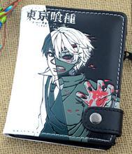 Cartoon wallet Tokyo Ghoul lot of style zipper buckle short wallet for anime fans 2017