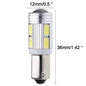 Image 3 - 10Pcs Neue Lampe 5630 5730 SMD 10 LED H6W BAX9S 150 Grad LED Lampe Für Parkplatz Licht/DRL/vorne hinten Blinker 12V DC