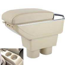 Кожаный автомобиль центральной консоли Подлокотники коробка для хранения Nissan Tiida Nissan Sylphy седан Бесплатная доставка