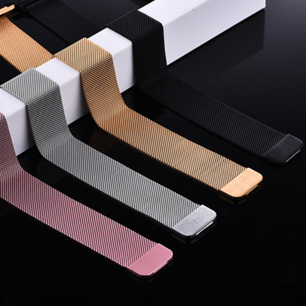 Milanese Loop watchband strap For Apple Watch band 42mm/38mm Stainless Steel LinK Bracelet magnetic buckle for iwatch 3/2/1 noto hot sale 38mm 42mm metal watchband for apple watch awmlmcs stainless steel magnetic closure milanese loop for apple watch