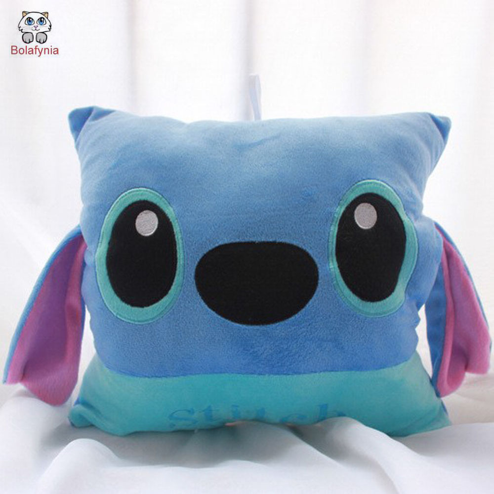 BOLAFYNIA Batch Stitch plush toys creative gifts cartoon Warmer Cushion pillow children Stuffed toy 55cm cute cartoon lilo and stitch warm hand pillow plush toy doll stuffed pillow cushion toys dolls warm hands stitch kids toy