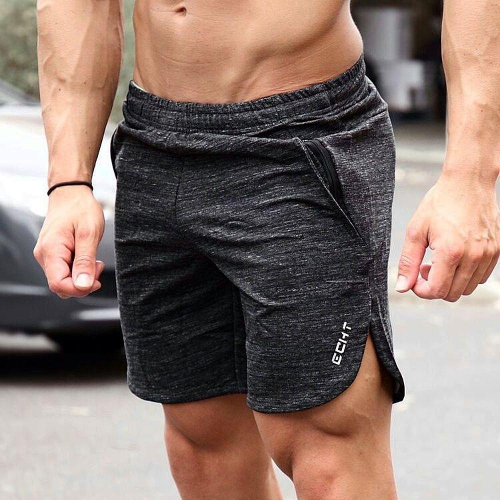 ZOGAA Mens Gym Cotton Shorts Run Jogging Sports Fitness Bodybuilding Sweatpants Male Workout Training Brand Short Pants