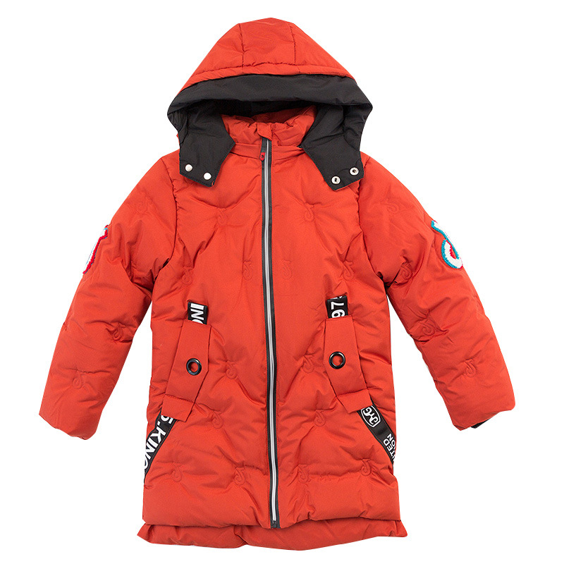New kids Warm Winter coat Children Jackets INS boy's duck Down Outerwear cotton Coats boy Parkas jacket Children clothes 8-14Y