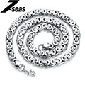 2015 Hot Sales Rock 316 Stainless Steel Male Necklace Circle Chain 22 Inch Gifts Link Sexy Never Fade