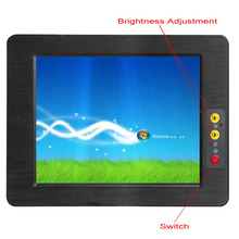All in one 15 inch Fanless Touchscreen Industrial Tablet PC with Intel ATOM D2550 1.86G/ 4*COM support windows 10