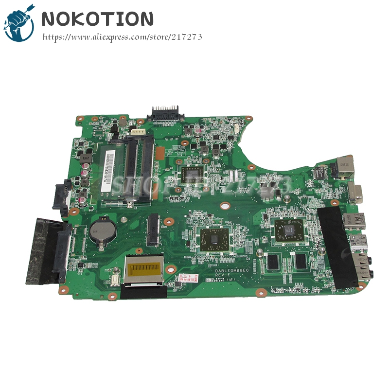 NOKOTION A000081070 DABLEDMB8E0 Laptop Motherboard For Toshiba satellite L750D Main Board E350 CPU nokotion genuine h000064160 main board for toshiba satellite nb15 nb15t laptop motherboard n2810 cpu ddr3