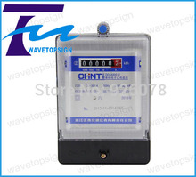 CHNT Single-phase electronic energy meter  / electronic table / household meter / meter rental DDS666 20(80)A
