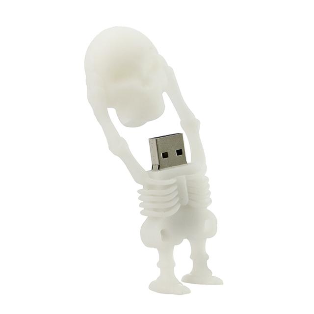Skull usb flash drives 4GB 8GB 16GB 32GB 64GB