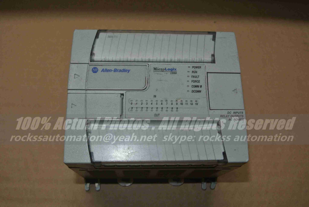 Module 1762-L24BWA Ser.C Used In Good Condition With Free DHL / EMS