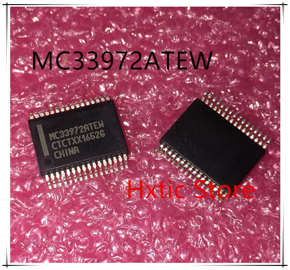 10pcs/lot MC33972ATEW MCZ33972AEW MCZ33972 SSOP-32 New Original IC