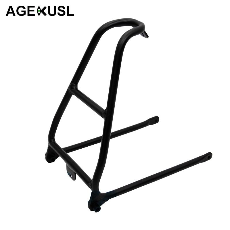 CNC anodisation Durable supports de vélo pour Brompton vélo vélo facile roue porte-bagages T6 Stable vélo aluminium accessoire 150g