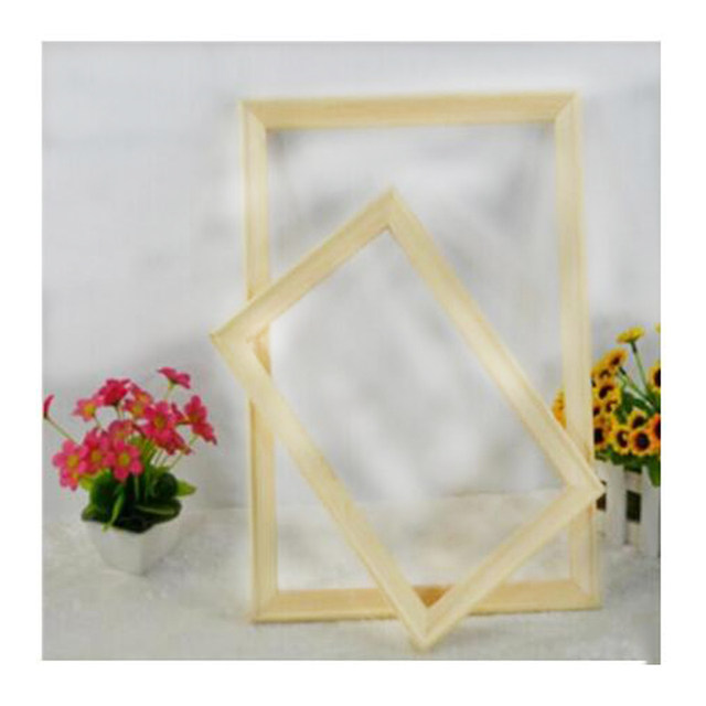 Online Shop Diy Painting By Numbers frame combination frame wooden ...