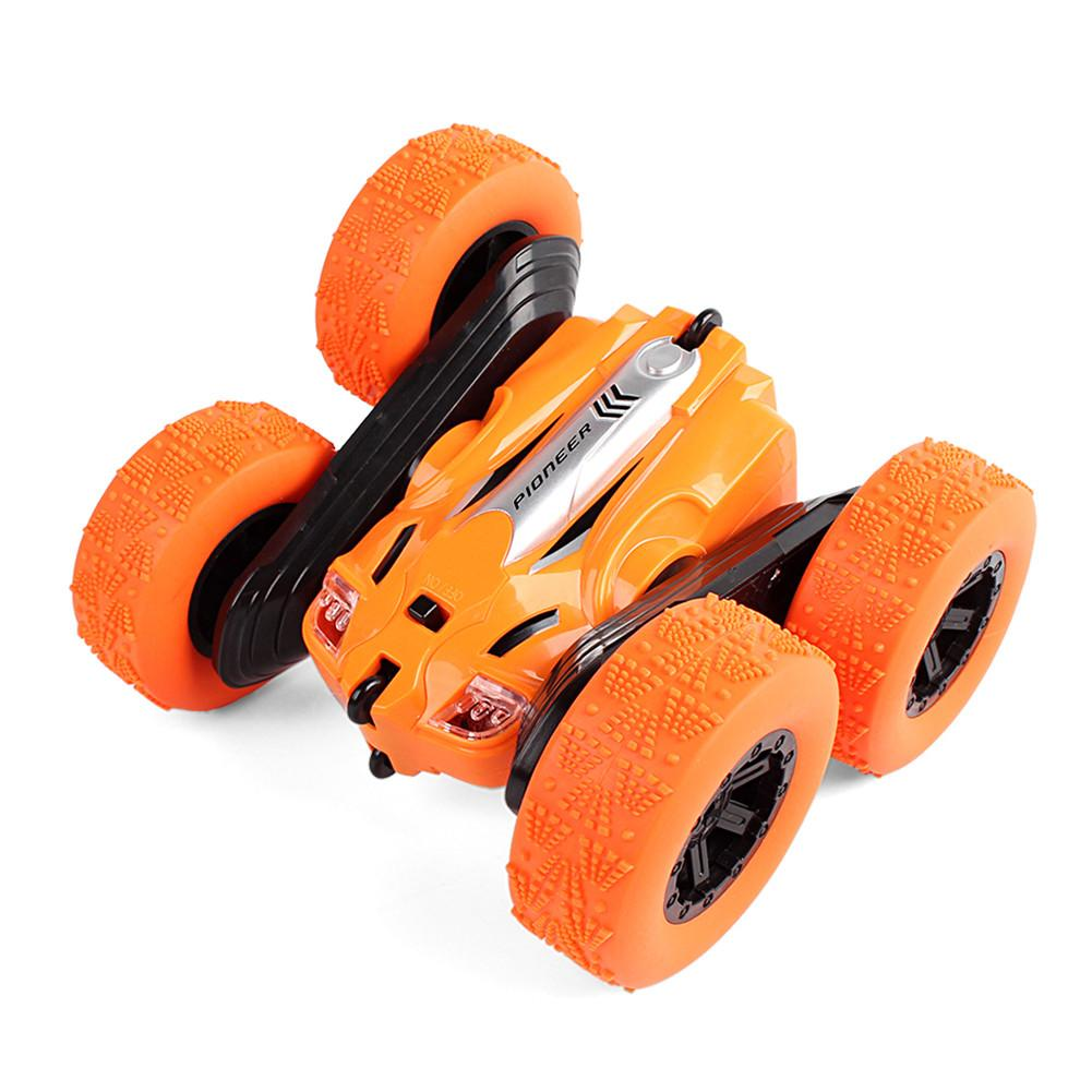 Remote Control 4CH Car For Toddlers RC Vehicle Stunt Car Toy With Sound And Light Educational Toy Car Boys Girls Kids