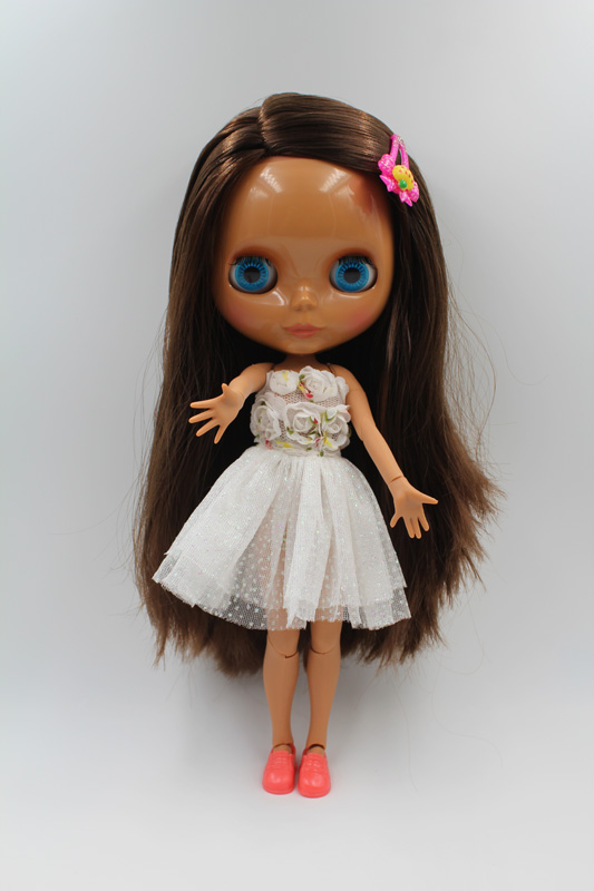все цены на Free Shipping Top discount JOINT DIY Nude Blyth Doll item NO. 225J Doll limited gift special price cheap offer toy USA for girl онлайн