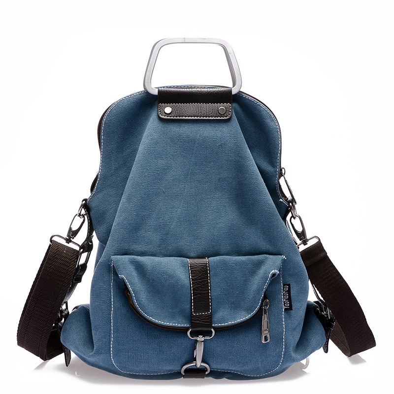 ZHIERNA New 2017 Casual Women Backpack Female Backpacks High Quality Canvas Women Bag Women's Travel Bag Laptop Mochila