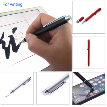 2in1 Capacitive Pen Touch Screen Drawing Pen Stylus with Conductive Touch Sucker Microfiber Touch Head for Tablet PC Smart Phone 3