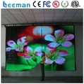 Leeman Flexible LED Curtain Display/soft video background led curtain, led curtain display mesh screen panel P3 HD screen