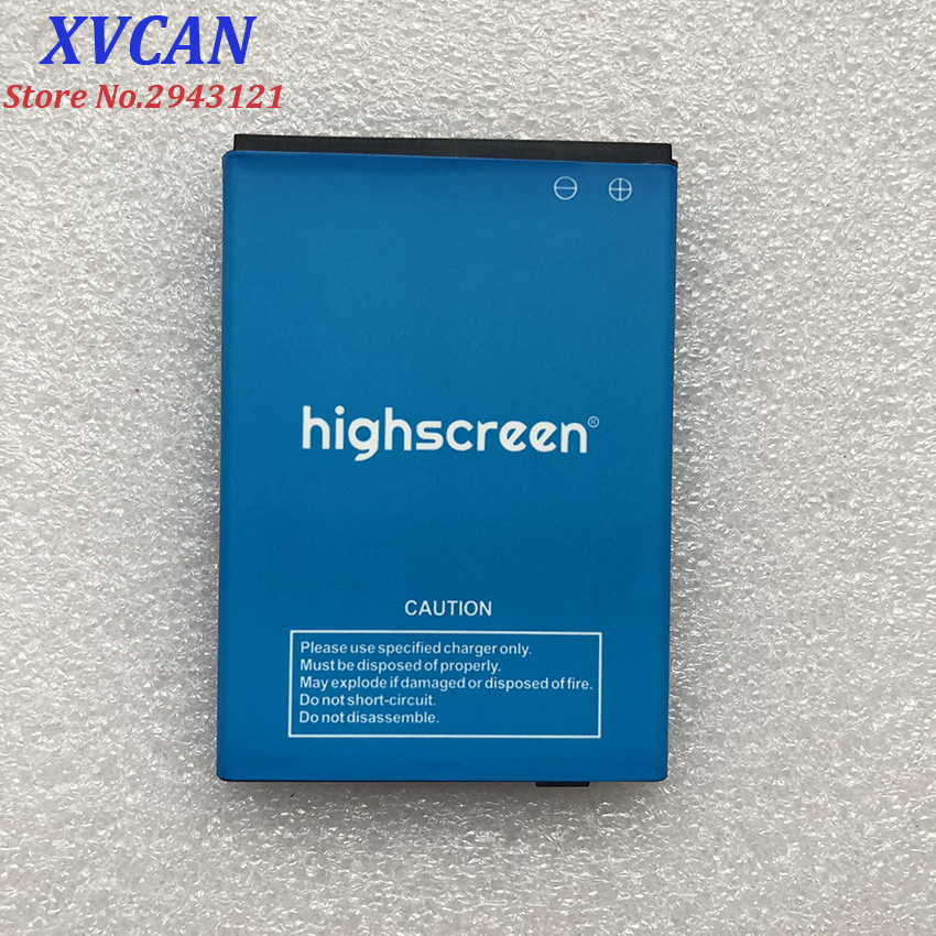 High Quality Original For Highscreen Easy F Cell Phones 1700mah Battery Replacement Parts