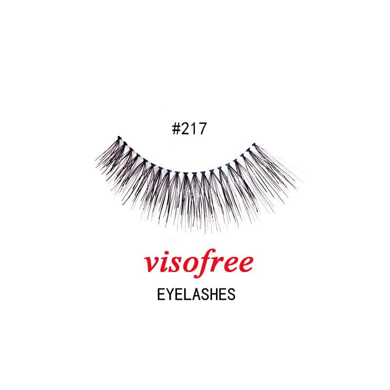 1 пара, модные мягкие Накладные ресницы, накладные человеческие волосы, клеи, гламурные, перекрещивающиеся ресницы, макияж, красота #217
