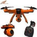 Professioal Wingsland Scarlet Minivet GPS FPV rc Drone con Cámara de ALTA DEFINICIÓN 4CH 2.4G 6-Axis Gyro Auto Retrun Casa VS Walkera QR X350