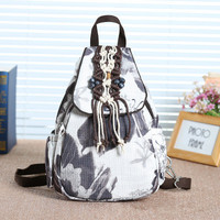 New Coming Fashion Appliques Multi use Backpacks!High quatity Lady's Shopping Cover backrack Top Versatile Embossing backpack