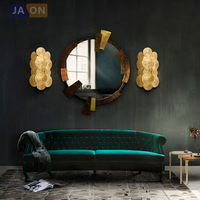 led e14 New Chinese Copper Classic LED Lamp LED Light Wall lamp Wall Light Wall Sconce For Store Foyer Bedroom