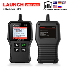 Launch CReader 319 OBD2 Scanner Auto Fault Code Reader Car OBDII Automotive OBD 2 Scaner Code Read PK CReader 3001 CR3001 AD310 top quality launch creader 5001 car diagnostic tool free update obdii auto diagnosis creader cr5001 odb obd 2 automotive scanner