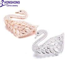 Высококачественные фианиты Броши Булавки с бабочками для женщин Свадебные женские броши милые животные Брошь для женщин ювелирные изделия