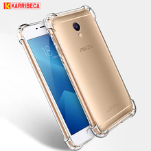 Transparent Silicone Case For Meizu M6 Note M6s funda cover shockproof clear tpu cases for Meizu M3 Note M3s etui coque tok husa
