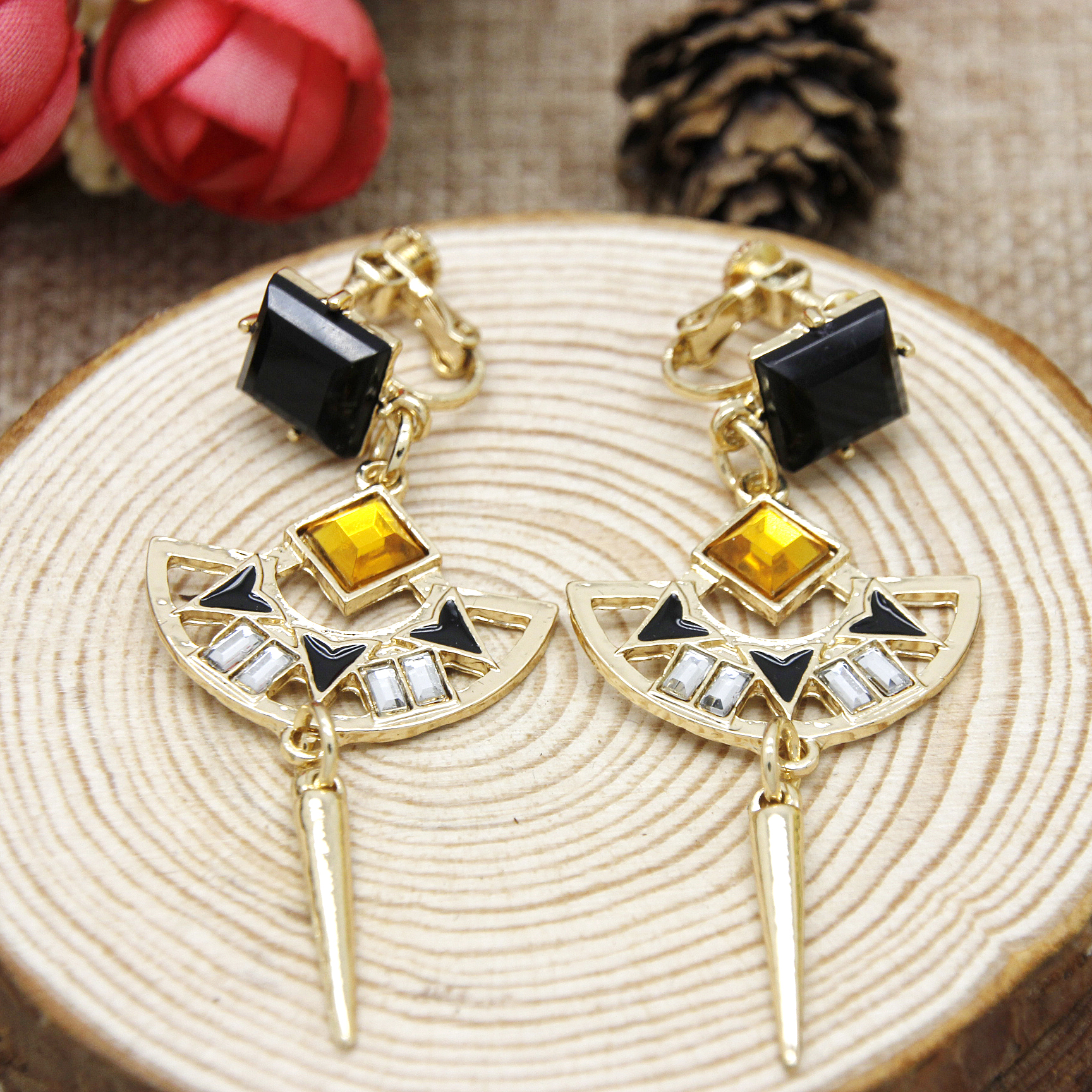 New listing 🎉2 pair Coach Earrings   Coach earrings, Coach jewelry, Pairs