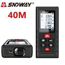 SNDWAY лазерный дальномер 40 м лазерный дальномер рулетка Diastimeter рулетка Trena инструмент