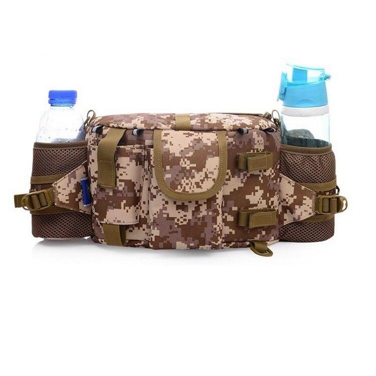 Multifuncional tático camuflagem pacotes de cintura à