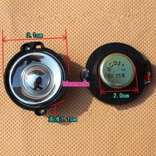 2Pcs 1.25Inch Tweeter Audio Loudspeakers 6Ohm 25W Magnetic Fever Sound Column Accessories