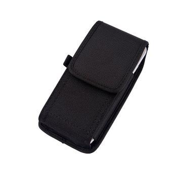 2019 Phone Pouch Hanging Waist Storage Bag Fanny Pack Black Classic Belt Clip Pouch Case For iPhone Waist Bag i4 bk l protective leather waist belt bag case for iphone 4s 4 black