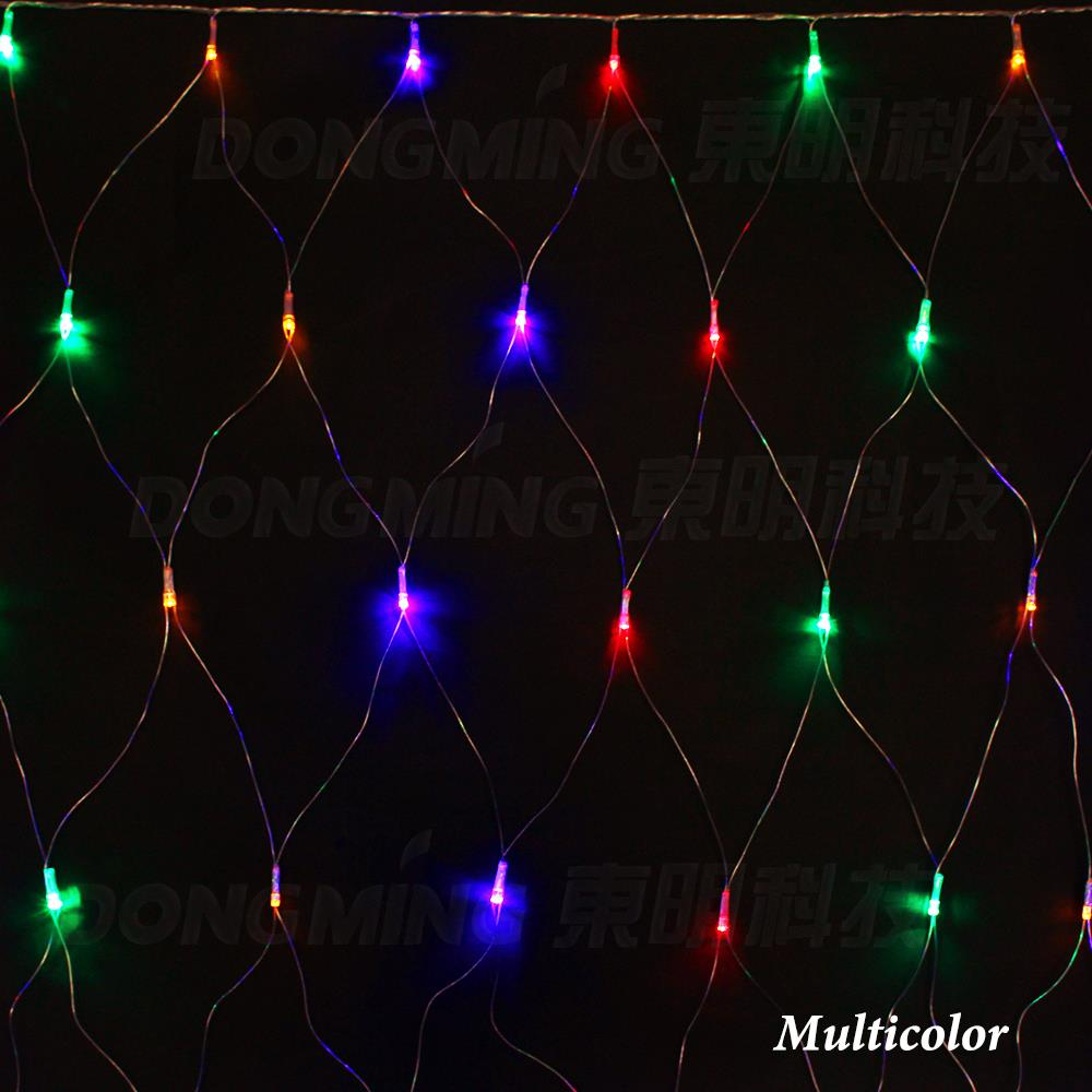 aliexpresscom buy new 3mx2m 192 outdoor led net lights twinkle light fairy string holiday wedding party decoration 220v christmas led net lights from - Led Multicolor Christmas Lights