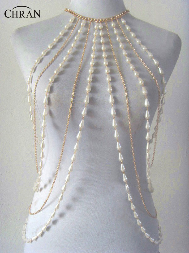 collier perle sexy