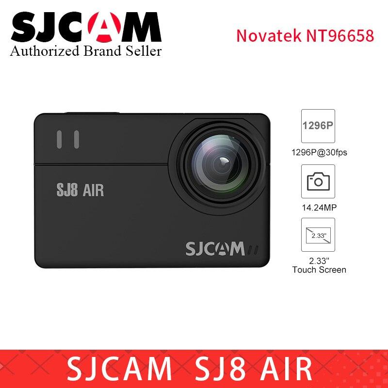 SJCAM SJ8 série SJ8 Air & SJ8 Plus & SJ8 Pro 1290 P yi 4 K caméra d'action WIFI télécommande étanche sport DV PK sj pro yi 4 k h9r - 3