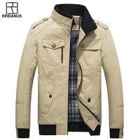 New Jacket Men Spring Autumn Casual Slim Fit Solid Jackets Simple Design Hot Sale 2017 Men