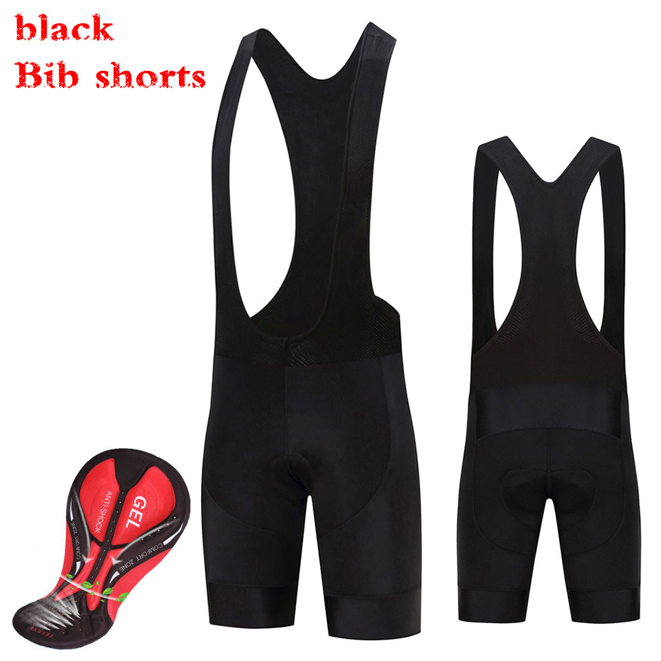 2019 Black BEST For Long Travel CYCLING BIB SHORTS With Side Pocket Italy Pad Bib Shorts For 7-8 Hours Rider Best Quality