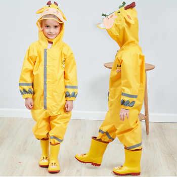 Children Waterproof Rain Pants New 2019 Waterproof Overalls 3-8Yrs Baby Boys Girls Jumpsuit Fashion Children RainCoat DWQ006 - DISCOUNT ITEM  35% OFF All Category