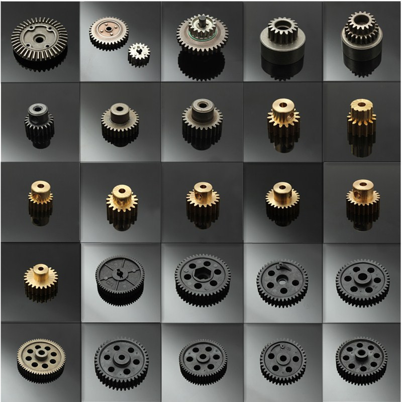 HSP 1:10 RC 1/10 Car Off-Road On-Road Truck Buggy Metal Motor Gear Spare Parts RC Parts 11119 17T 11120 18T 11153 11173 Gears hsp rc model car spare part 02023 clutch bell double gears 16t 21t rc 1 10th 4wd truck buggy destrier backwash