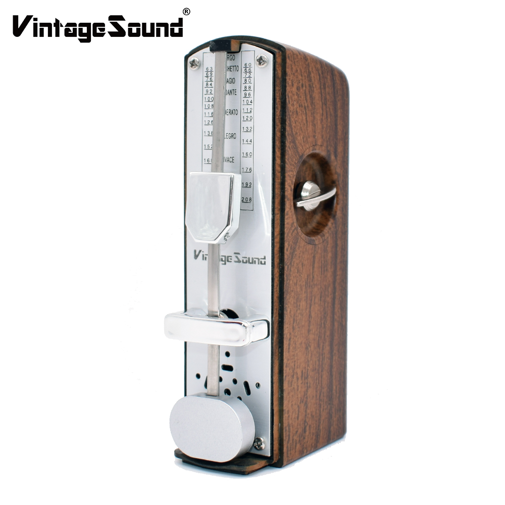 Mechanical Metronome Mini For Piano Drum Guitar Violin Ukulele Bass Track Tempo And Beat Universal Musical