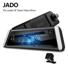 JADO D800s X2 Car Dvr Stream Rearview Mirror Camera LDWS GPS Track 10 IPS Touch Screen Full HD 1080P Car Dvrs Recorder Dash cam jado d800s x6 stream rearview mirror ldws gps track 10 ips touch screen full hd 1080p car dvrs dash cam