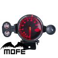 SPECIAL OFFER 80mm Original Logo BF 11000 RPM Red LED Tachometer Gauge Meter With Stepper Motor + Shift Light