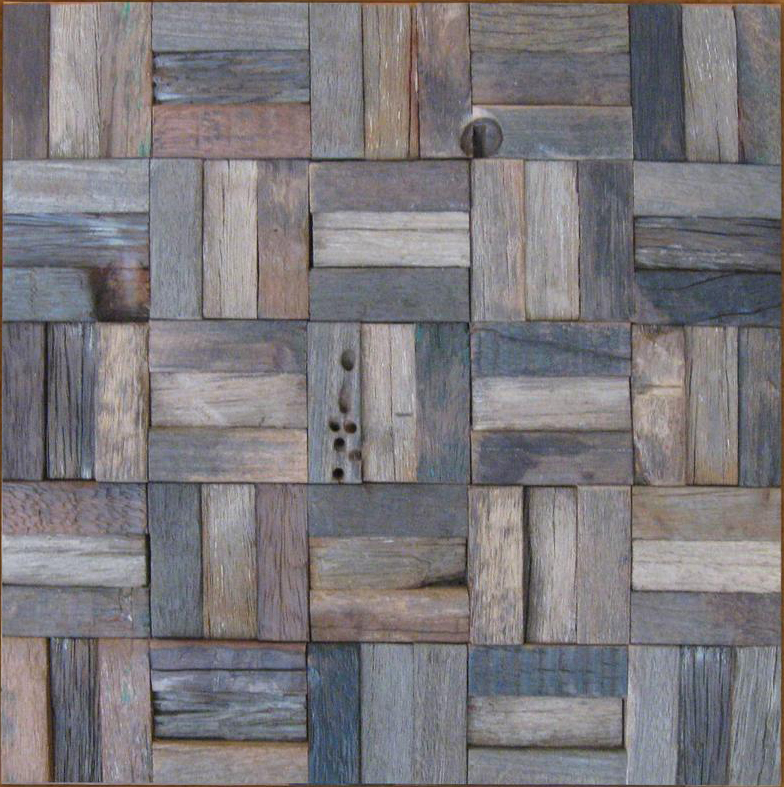 Interior wood walls tiles Archaistic Rustic Wooden Tiles for Wall ...