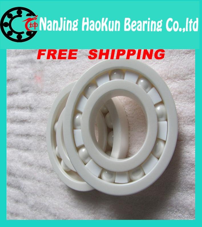 Free shipping 6209 full ZrO2 ceramic deep groove ball bearing 45x85x19mm good quality
