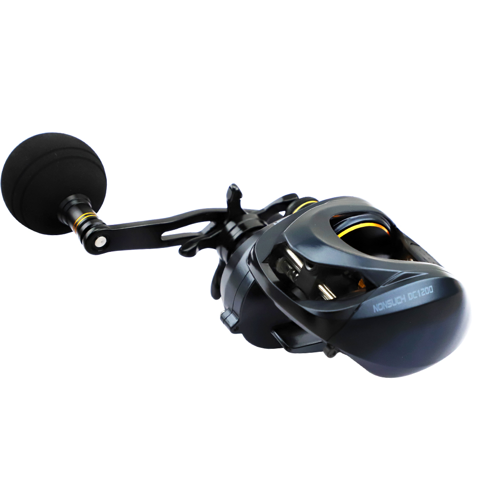 NOEBY Fishing Reels NONSUCH DC1200 High Speed Baitcasting Reel Gear Ratio 6.3:1 11BB Bait Casting Wheel Max Power 12kg Pesca