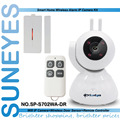 SunEyes SP-S702WA-DR  Wireless IP Camera Alarm Kit 720P HD with one Magnet Door Sensor and One Remote Control