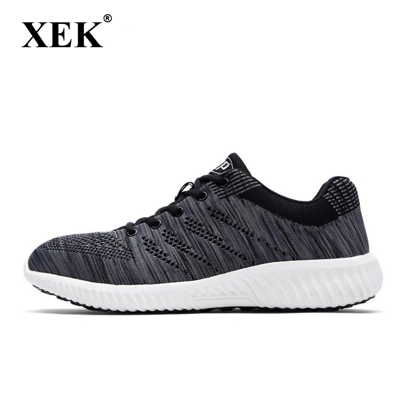 Xek Men Work Breathable Steel Toe Caps Anti-smashing Stab Safety Shoes Work Shoes Men Summer Labor Insurance Shoes Wyq30 Latest Technology Men's Boots